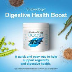 Shakeology Digestive Health Boost