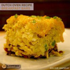 dutch oven breakfast bars