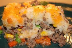 Finished Shepherds Pie