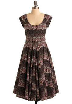 Meadowlands Dress - I love the cut of this dress, maybe do this with peach dyed lace