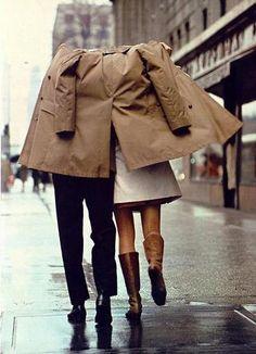 Rainy days w/ you  ♥