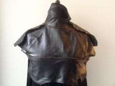 Leather and satin dress made from a thrifted jacket and skirt - Marcela - The clothes upcycler - conscious Satin Dresses, Satin Skirt, Dress Making, Leather Backpack, Thrifting, Upcycle, Skirts, Jackets, Clothes