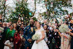 Emma and Sam's 'Dinosaurs and Daisy's' North Wales Wedding by Dan Hough Photography - Bo...