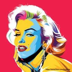 Monroe .. My style pop art