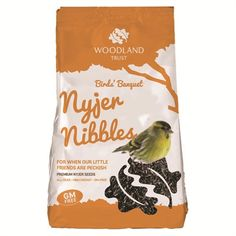 Picture of Just Nyjer Seeds Bird Feed (1kg)