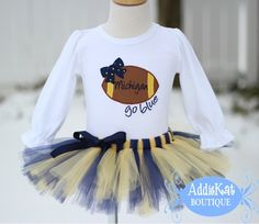 Michigan Wolverine Baby Girl Clothes