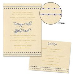 Annie Wedding Invitations by MyGatsby.com