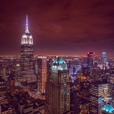 Greg T. captures the bright city lights surrounding the Empire State Building.