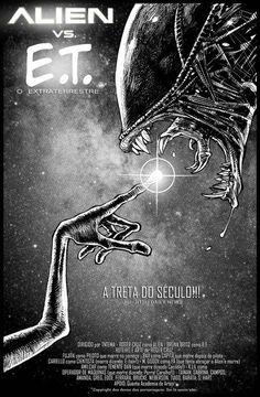 Alien vs E.T.