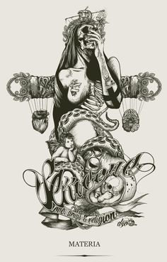ALCHEMY by DZO Olivier, via Behance