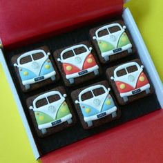 Volkswagon cookies! Omg my brother would love these!