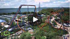 Valravn Birdseye est la nouvelle attraction du parc d'attraction Cedar Point situé à Sandusky dans l'Ohio, aux...