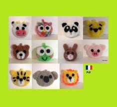 Creative Bubble, Crochet Amigurumi, Crochet Necklace, Bubbles, Teddy Bear, Craft Ideas, Couture, Dishes, Etsy