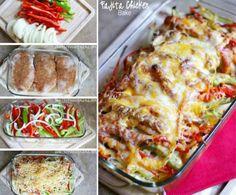 Chicken Fajita Bake Tasty Casserole And Super Easy | The WHOot