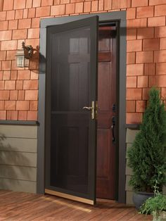 133 Best Wrought Iron Steel Storm Doors Images In 2014