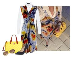 Untitled #3682 by elia72 on Polyvore featuring polyvore, fashion, style, Hallhuber, Dorothy Perkins, Ray-Ban, Dooney & Bourke and clothing #elia72