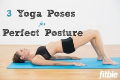 Sitting all day not only interferes with fitness -- it can also mess with your posture. Here's how to correct yours with #yoga.   Fitbie.com