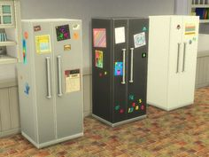 Real World Living Series Refrigerators 1.2 (3 Swatches) - created by xSarahsShadyx