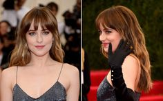Dakota Johnson - Met Ball 2014: Click the link for her makeup how-to http://parade.condenast.com/290315/jennytzeses/how-to-recreate-6-hot-hair-and-makeup-looks-from-the-met-ball/#