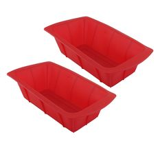 GIFTCO 8 x 4 Silicone Loaf Pan 7139 - 2-Pack ** Special offer just for you. : Baking pans