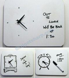 11-unusual-and-modern-clock-designs : รวม 11 นาฬิกาดีไซน์เก๋ๆ