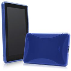 BoxWave Kindle Fire BodySuit - Premium Slim-Fit TPU Gel Skin Case, Texturized for Extra No-Slip Grip for the Kindle Fire **SPECIAL OFFER** Buy 1 Get 2nd Unit 50% Off for Limited Time Only! -See Details! (Azure Blue)