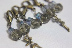 Fairy Ring Crochet Stitch Markers by midnightscribbles on Etsy