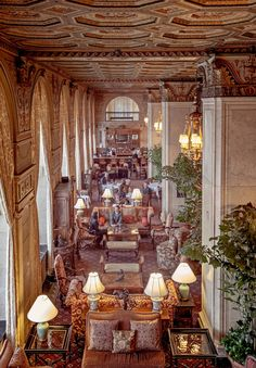 Travel back in time at The Brown Hotel in Louisville, Kentucky