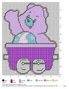 Care Bear Train Set 17