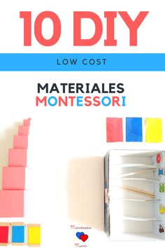 Nuevo Post! Tutoriales para que hagas tus propios Materiales Montessori DIY http://blgs.co/A22910