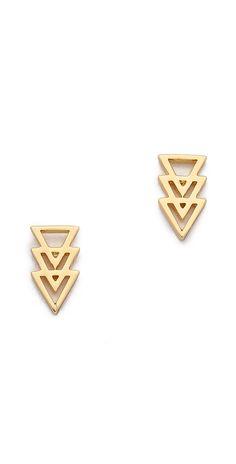 Gorjana Nira Stud Earrings   SHOPBOP