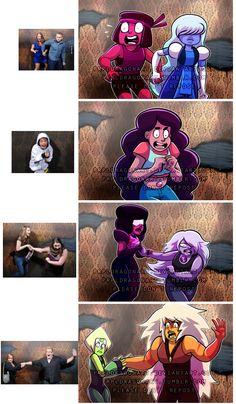 Steven Universe: Haunted House Reaction meme by prpldragonart on DeviantArt