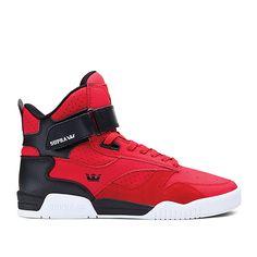 SUPRA BLEEKER | RED/BLACK - WHITE | Official SUPRA Footwear Site