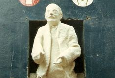 """Original statue of Jung in Mathew Street, Liverpool, a half-body on a plinth captioned """"Liverpool is the pool of life. Jung In, Carl Jung, Liverpool City, Liverpool England, British Isles, Archetypes, The Beatles, Mythology"""