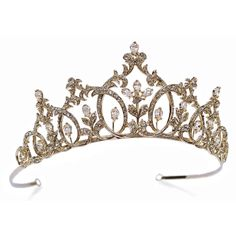 Tiara | Swarovski Crystal Imperial Beauty Tiara - Bridal Jewellery - Crystal ...