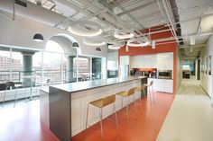 Blackbaud Offices by Fusion Design Consultants, Cambridge – USA » Retail Design…