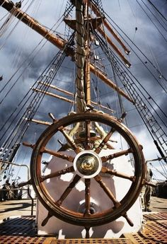 Tall Ships Helm  #tallship #helm #schooner
