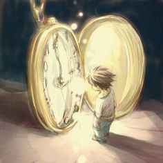 Seeing the clock tick, and feeling like a kid - unable to stop the hands of time.