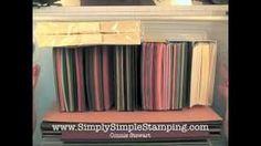 Simply Simple FLASH CARD Organization, via YouTube.