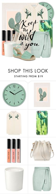 """""""wild"""" by dotty-28 ❤ liked on Polyvore featuring WALL, Urban Outfitters, STELLA McCARTNEY, Casetify, Bobbi Brown Cosmetics, Sophie Hulme, The White Company, River Island, New Look and GREEN"""