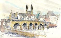 St. Servaasbrug, Maastricht, Rene Fijten