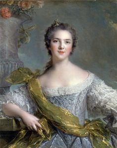 Madame Victoire de France, fifth daughter of Louis XV by Nattier in 1748.