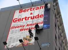 Agent Bertram on a building near you!