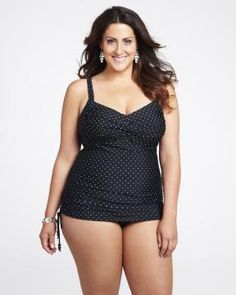 twisted swimdress | Shop Online at Addition Elle Images Of Summer, Addition Elle, Girl With Curves, Swim Dress, Beach Babe, Size Clothing, Plus Size Outfits, Tankini, Curvy