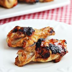 This 3-Ingredient Grilled Chicken Wings recipe is probably the easiest you'll find. They're full of zesty flavor and they'll be done in 40 minutes or less.