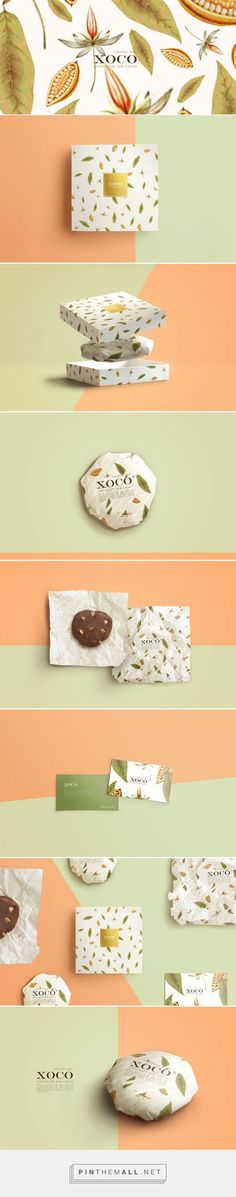 XOCO - #Mexican Craft #Chocolate #packaging designed by TORO PINTO - http://www.packagingoftheworld.com/2015/05/xoco-mexican-craft-chocolate.html: