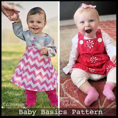 Baby Basics PDF Pattern — ShwinDesigns