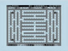 Early British Computer Gaming: ZX81 Pac Block – move the block, avoid the blocks, eat the blocks! :0)