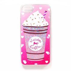 Adorbs liquid glitter sand unicorn case