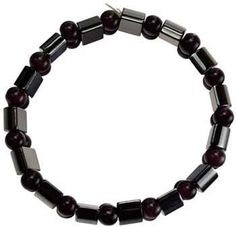 Magnetic Amethyst  W- Beads